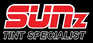 SUNz Tint Specialist Logo